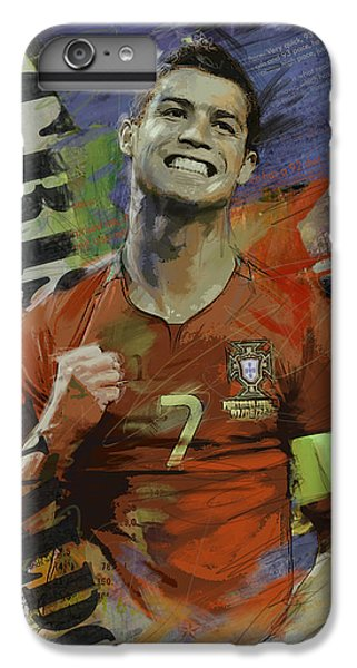 Cristiano Ronaldo iPhone 7 Plus Case - Cristiano Ronaldo - B by Corporate Art Task Force