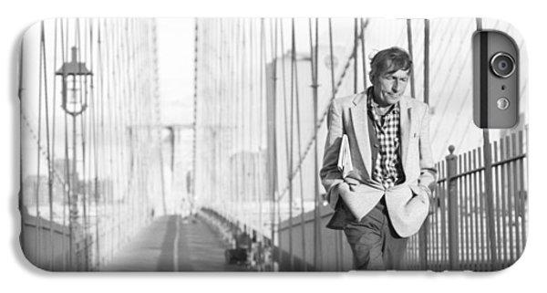 Crossing Brooklyn Bridge IPhone 7 Plus Case by Dave Beckerman