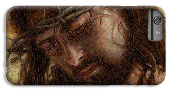 England iPhone 7 Plus Case - Crown Of Thorns Glass Mosaic by Mia Tavonatti