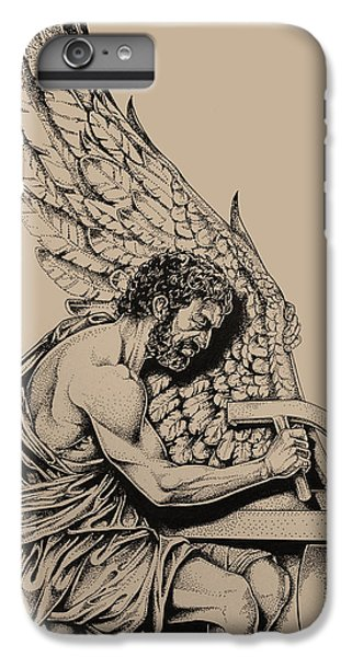 Minotaur iPhone 7 Plus Case - Daedalus Workshop by Derrick Higgins