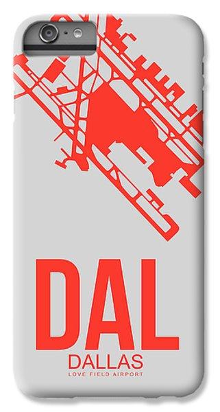 Dallas iPhone 7 Plus Case - Dal Dallas Airport Poster 1 by Naxart Studio