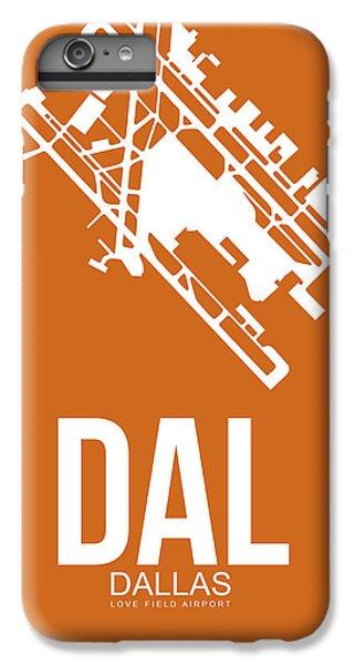 Dallas iPhone 7 Plus Case - Dal Dallas Airport Poster 2 by Naxart Studio