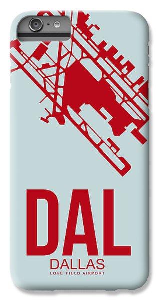Dallas iPhone 7 Plus Case - Dal Dallas Airport Poster 4 by Naxart Studio