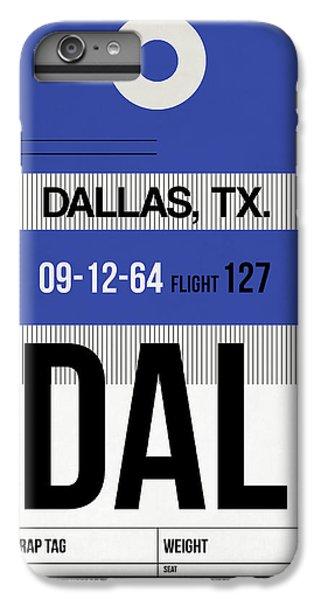 Dallas iPhone 7 Plus Case - Dallas Airport Poster 1 by Naxart Studio