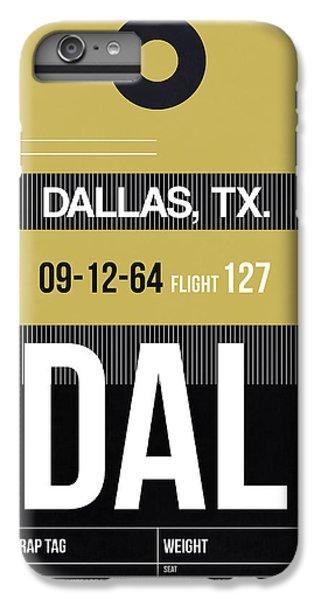 Dallas iPhone 7 Plus Case - Dallas Airport Poster 2 by Naxart Studio