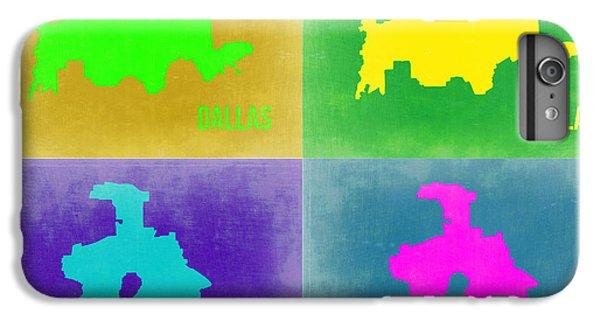 Dallas iPhone 7 Plus Case - Dallas Pop Art Map 2 by Naxart Studio