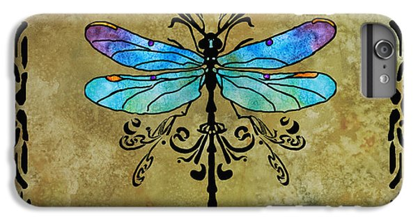Damselfly Nouveau IPhone 7 Plus Case by Jenny Armitage