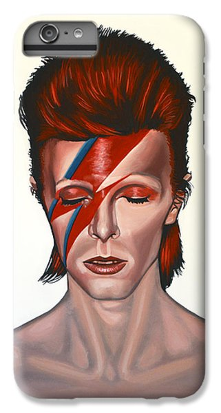 Space iPhone 7 Plus Case - David Bowie Aladdin Sane by Paul Meijering
