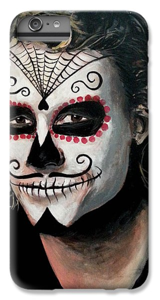 Day Of The Dead - Heath Ledger IPhone 7 Plus Case by Tom Carlton
