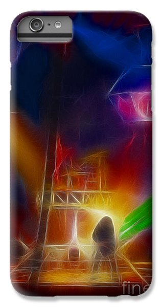 Def Leppard iPhone 7 Plus Case - Def Leppard-adrenalize-gf10-fractal by Gary Gingrich Galleries