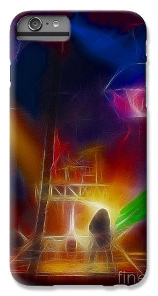Def Leppard-adrenalize-gf10-fractal IPhone 7 Plus Case