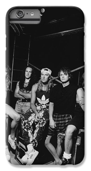 Def Leppard - Adrenalize Tour B&w 1992 IPhone 7 Plus Case by Epic Rights