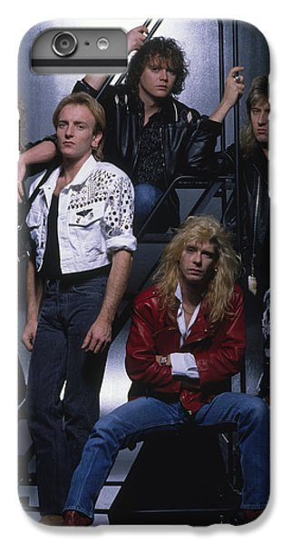 Def Leppard - Group Stairs 1987 IPhone 7 Plus Case by Epic Rights