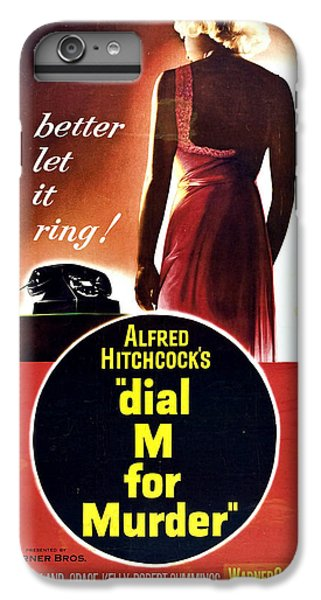 Dial M For Murder - 1954 IPhone 7 Plus Case by Georgia Fowler