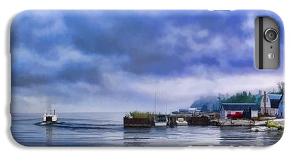 Door County Gills Rock Morning Catch Panorama IPhone 7 Plus Case by Christopher Arndt