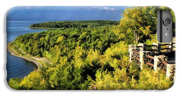 Door County Peninsula State Park Svens Bluff Overlook IPhone 7 Plus Case by Christopher Arndt