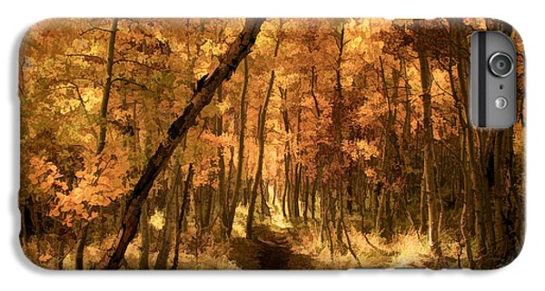 Lake iPhone 7 Plus Case - Down The Golden Path by Donna Kennedy