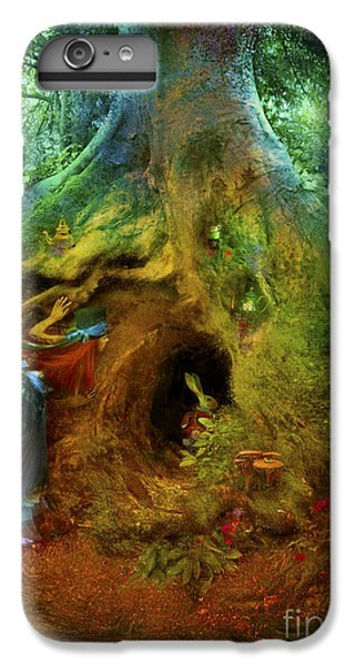 Down The Rabbit Hole IPhone 7 Plus Case by Aimee Stewart