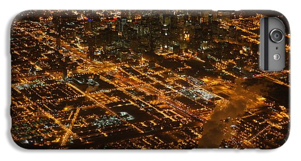 IPhone 7 Plus Case featuring the photograph Downtown Chicago At Night by Nathan Rupert