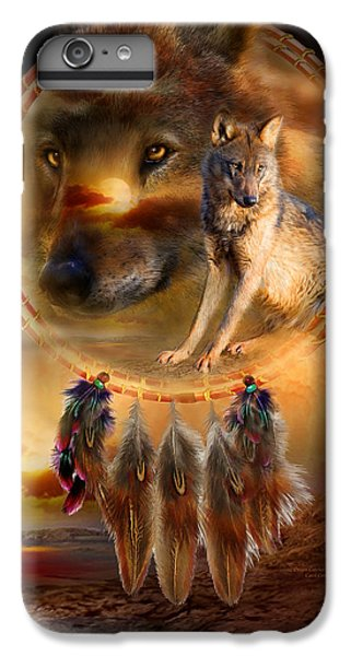Wolves iPhone 7 Plus Case - Dream Catcher - Wolfland by Carol Cavalaris
