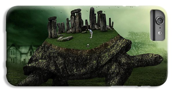 Turtle iPhone 7 Plus Case - Druid Golf by Marian Voicu