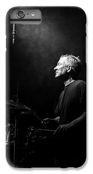 Drum iPhone 7 Plus Case - Drummer Portrait Of A Muscian by Bob Orsillo
