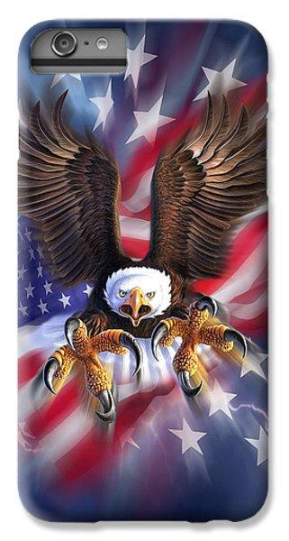 Eagle iPhone 7 Plus Case - Eagle Burst by Jerry LoFaro
