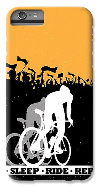 Repeat iPhone 7 Plus Case - Eat Sleep Ride Repeat by Sassan Filsoof