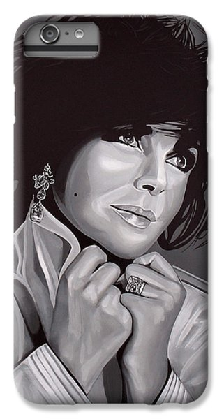Michael Jackson iPhone 7 Plus Case - Elizabeth Taylor by Paul Meijering