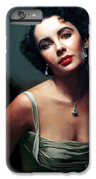 Elizabeth Taylor IPhone 7 Plus Case by Paul Tagliamonte