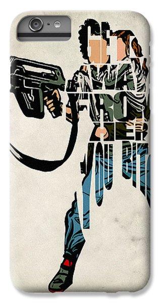 Ellen Ripley From Alien IPhone 7 Plus Case by Ayse Deniz