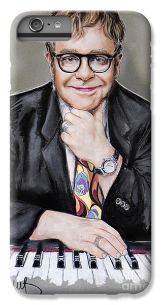 Elton John IPhone 7 Plus Case by Melanie D