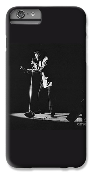 Elvis Presley On Stage In Detroit 1956 IPhone 7 Plus Case by The Harrington Collection