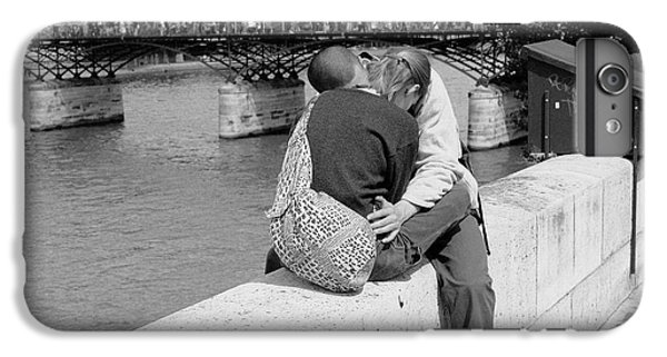 IPhone 7 Plus Case featuring the photograph Embrace-paris by Dave Beckerman