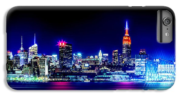 Empire State Building iPhone 7 Plus Case - Empire State At Night by Az Jackson