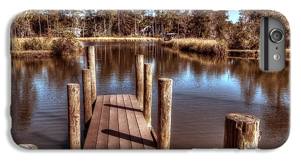 Shrimp Boats iPhone 7 Plus Case - End Of The Dock by Michael Thomas