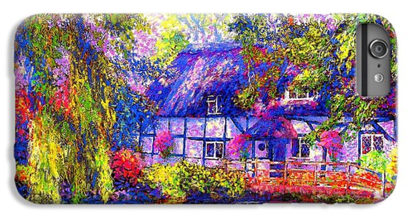 Duck iPhone 7 Plus Case - English Cottage by Jane Small