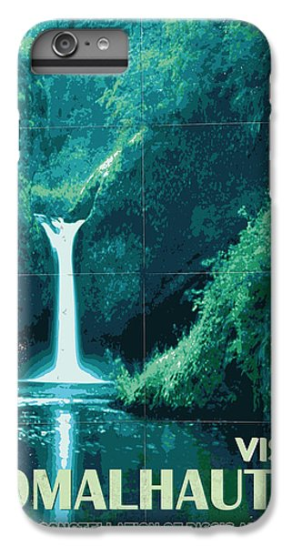 Aliens iPhone 7 Plus Case - Exoplanet 04 Travel Poster Fomalhaut B by Chungkong Art