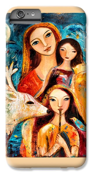 iPhone 7 Plus Case - Family With Reindeer by Shijun Munns