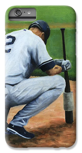 Derek Jeter iPhone 7 Plus Case - Farewell Captain by Joe Maracic