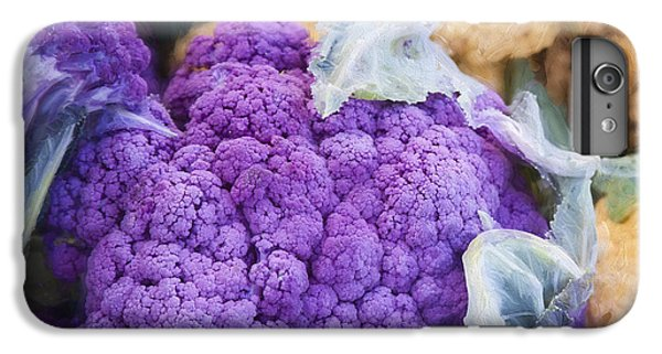 Farmers Market Purple Cauliflower Square IPhone 7 Plus Case