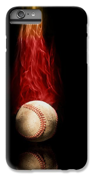 Athletes iPhone 7 Plus Case - Fast Ball by Tom Mc Nemar