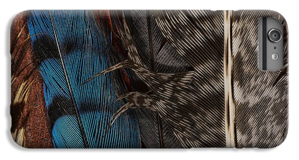 Bluejay iPhone 7 Plus Case - Feather Collection by Susan Capuano