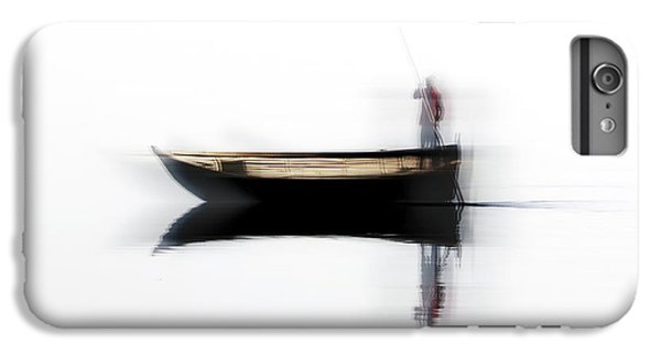 Boats iPhone 7 Plus Case - Ferryman by Hans-wolfgang Hawerkamp