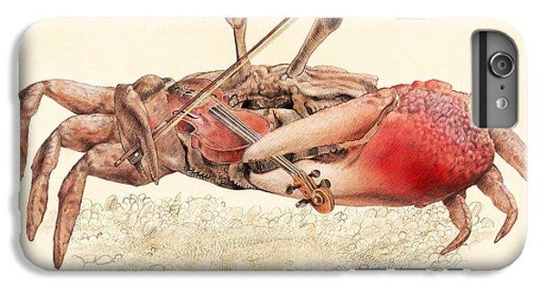 Violin iPhone 7 Plus Case - Fiddler Crab by Eric Fan