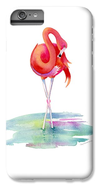 Flamingo Primp IPhone 7 Plus Case by Amy Kirkpatrick