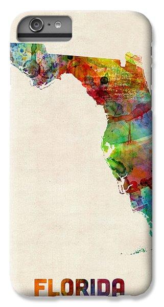 Florida Watercolor Map IPhone 7 Plus Case