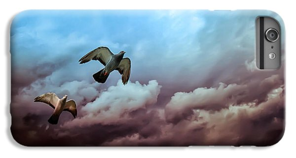 Flying Before The Storm IPhone 7 Plus Case by Bob Orsillo