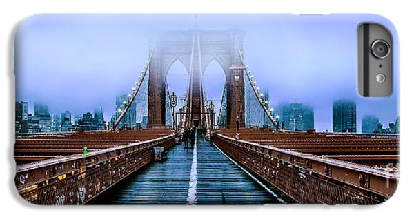 Featured Images iPhone 7 Plus Case - Fog Over The Brooklyn by Az Jackson