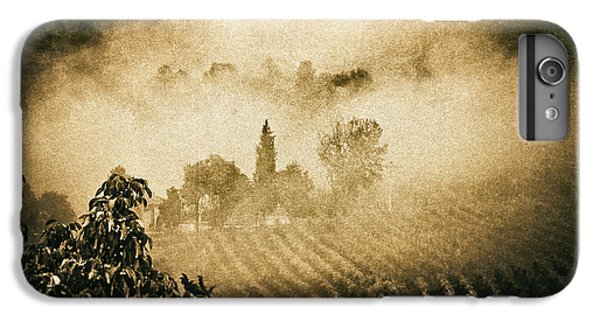 IPhone 7 Plus Case featuring the photograph Foggy Tuscany by Silvia Ganora